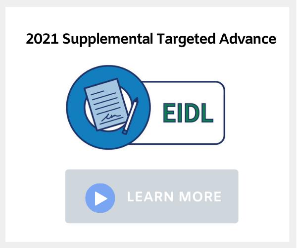 Supplemental Targeted Advance EIDL