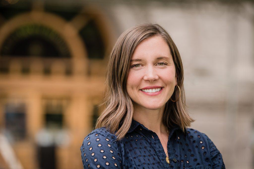 Photograph of Salt Lake City Mayor Erin Mendenhall