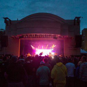 Gallivan Center stage
