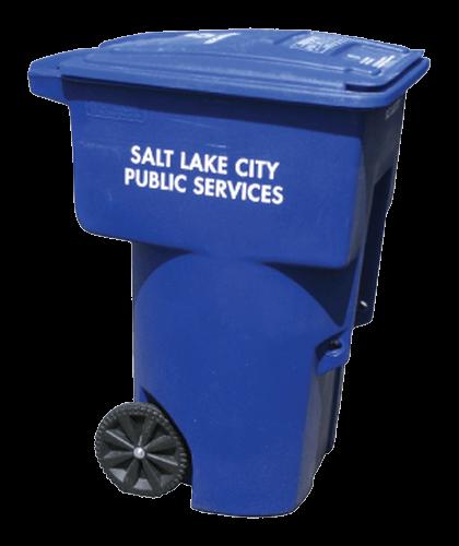 The Full Salt Lake City Curbside Services Brochure Recycling Bin Flyer