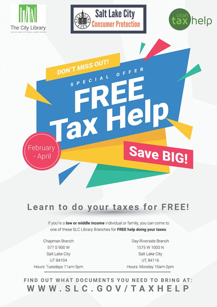 Free Tax Help Flyer
